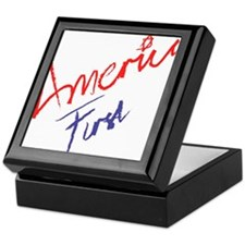 America First Keepsake Box