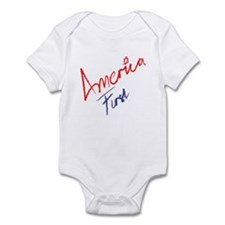 America First Infant Bodysuit