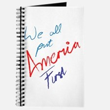 We All Put America First Journal