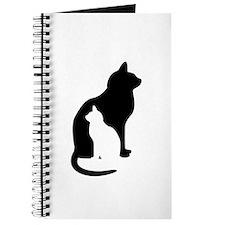 Feline Silhouettes Journal