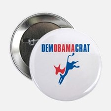 "Democratic President Barack Obama 2.25"" Button"