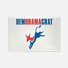 Democratic President Barack Obama Rectangle Magnet