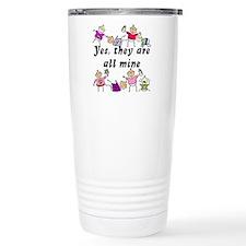 All Mine (8 Kids) Travel Mug