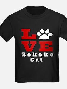 Love sokoke Cats T