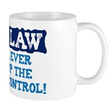 NEVER GIVE UP THE REMOTE CONTROL Mug