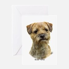 Border Terrier 9A21D-19 Greeting Card