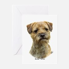 Border Terrier 9A21D-19 Greeting Cards (Pk of 10)