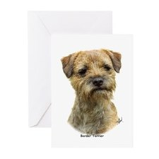 Border Terrier 9A21D-19 Greeting Cards (Pk of 20)
