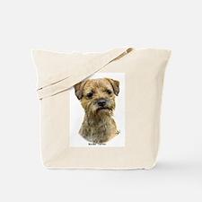 Border Terrier 9A21D-19 Tote Bag