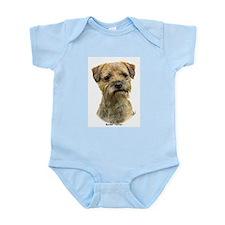 Border Terrier 9A21D-19 Infant Bodysuit