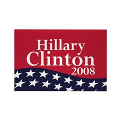 Hillary Clinton 2008 (10 pack of magnets)