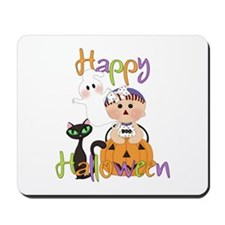 Halloween Pumpkin Baby Mousepad