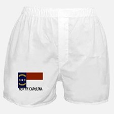 North Carolina Flag Boxer Shorts