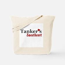 Tanker's Sweetheart Tote Bag