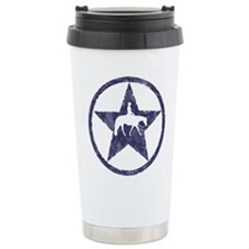 Western Pleasure Star Male Rider Travel Mug
