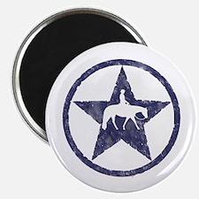 Western Pleasure Star Male Rider Magnet