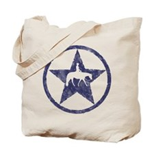 Western Pleasure Star Male Rider Tote Bag