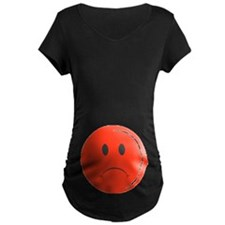 Sad Face Maternity T-Shirt