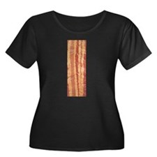 Women's Plus Size Bacon T-Shirt