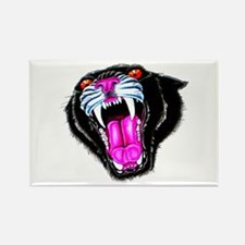 Panther Black Cat Tattoo Rectangle Magnet
