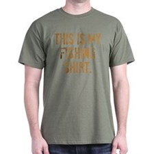 THIS IS MY FISHING SHIRT. T-Shirt