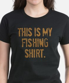 THIS IS MY FISHING SHIRT. Tee