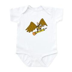 Cartoon Eagle Infant Bodysuit
