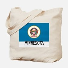 Minnesota Flag Tote Bag
