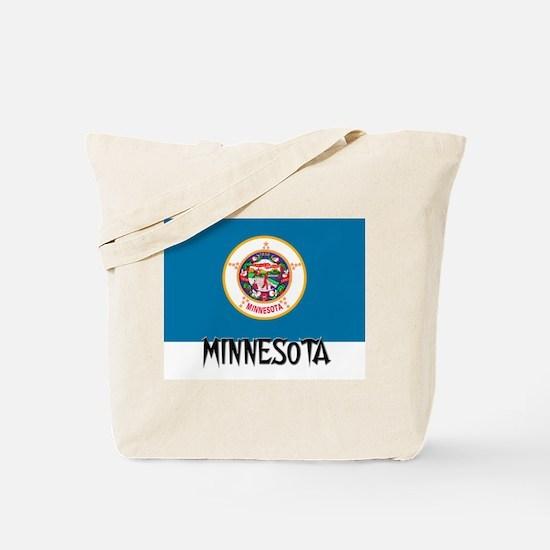 Minnesota Flag Tote Bag
