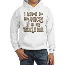 VOICES IN MY TACKLE BOX Hoodie