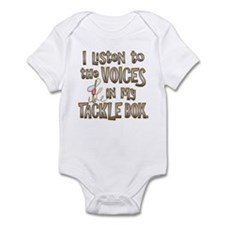 VOICES IN MY TACKLE BOX Infant Bodysuit