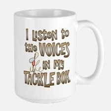 VOICES IN MY TACKLE BOX Mug