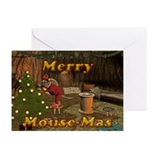 Merry Mousemas Greeting Cards (Pk of 10)