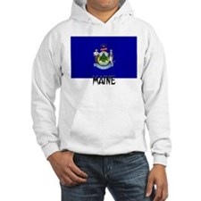 Maine Flag Hoodie