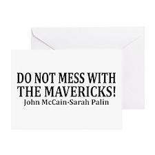 The Mavericks Greeting Card