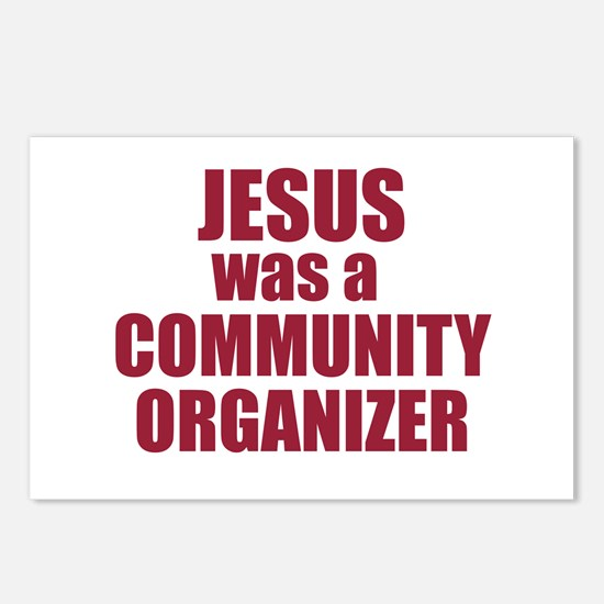 Jesus : Community Organizer Postcards (Package of