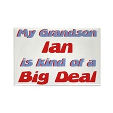 Grandson Ian - Big Deal Rectangle Magnet