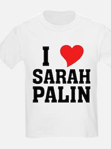 I Heart Sarah Palin T-Shirt