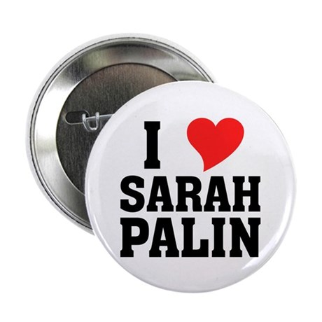 "I Heart Sarah Palin 2.25"" Button (10 pack)"
