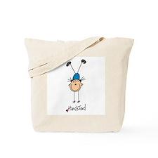 Gymnastics Handstand Tote Bag