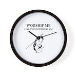 goddess gifts and t-shirts Wall Clock