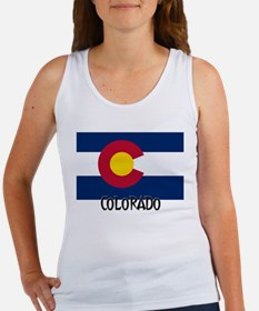 Colorado Flag Women's Tank Top