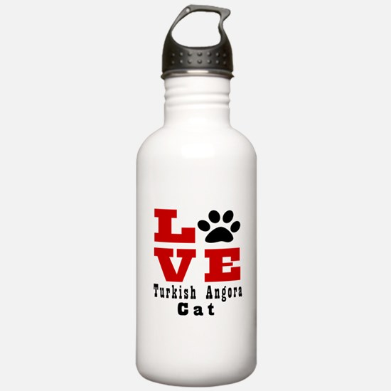 Love turkish angora Ca Sports Water Bottle