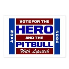 Hero & The Pitbull Postcards (Package of 8)