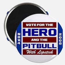 Hero & The Pitbull Magnet