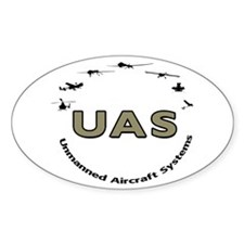 UAS Oval Decal