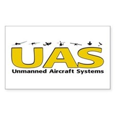 UAS Rectangle Decal