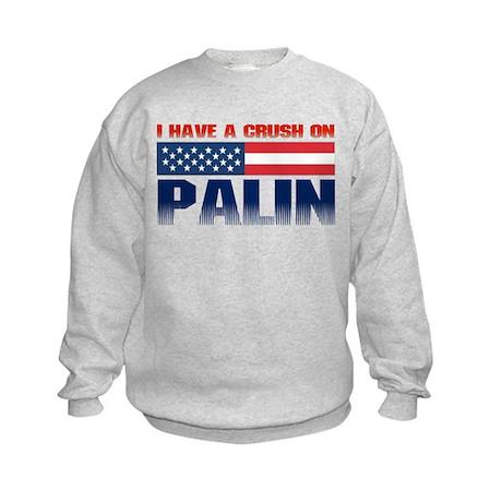 Crush on Palin Kids Sweatshirt