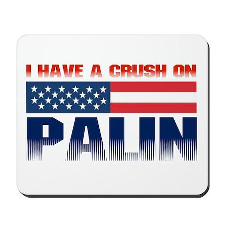 Crush on Palin Mousepad