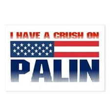 Crush on Palin Postcards (Package of 8)